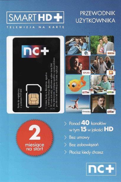 telewizja na karte smart hd TELEWIZJA NA KARTĘ SMART HD+ KODOWANE POLSKIE KANAŁY SATELITARNE
